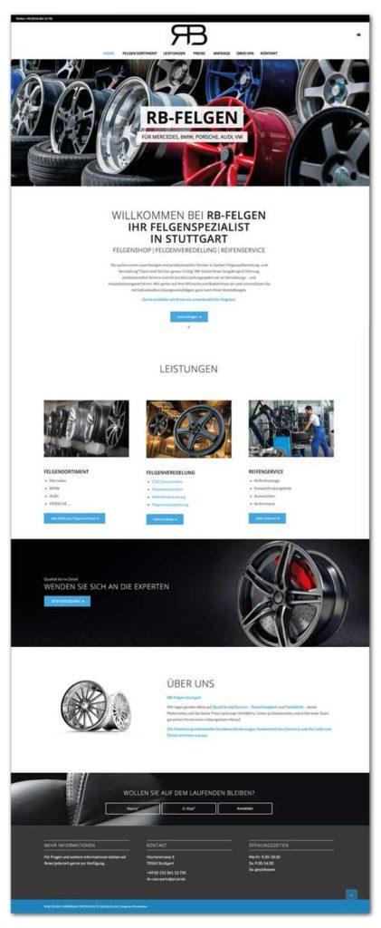 Professionelles Webdesign Stuttgart
