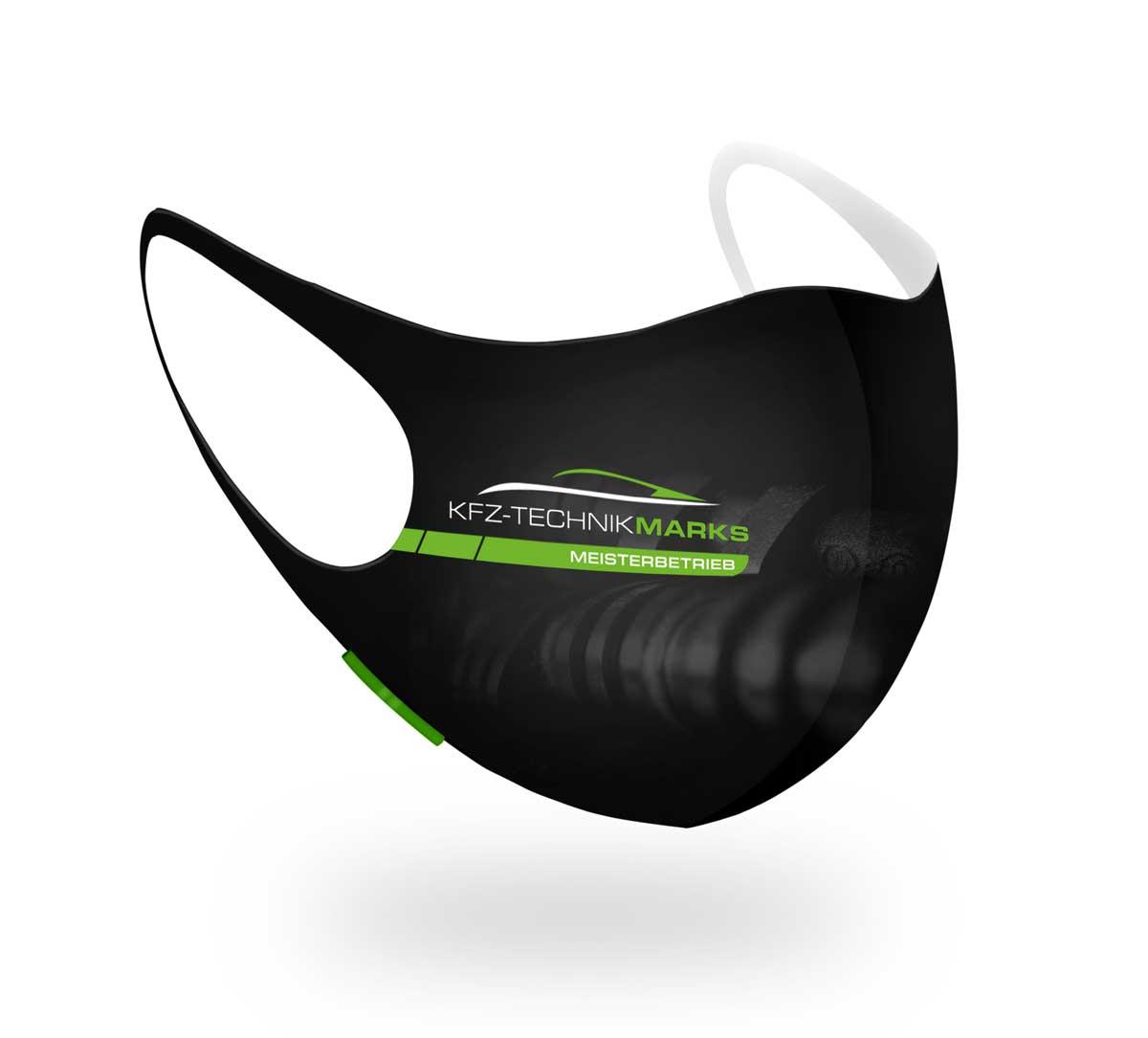 Mundschutz und Masken mit Logo bedrucken